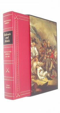 Redcoats and Rebels The War for America Hibbert Folio Society 2006