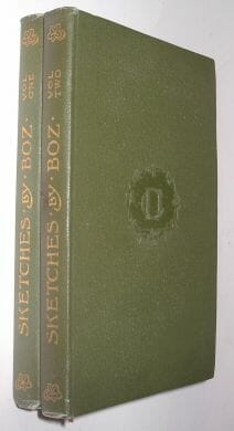 Sketches By Boz 2 Vols Dickens Temple Edition 1899
