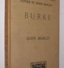 English Men Of Letters Burke Morley Macmillan 1897