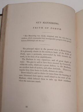 Landscape Illustrations Of The Waverley Novels 2 Vols Tilt 1832
