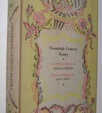 Twentieth Century Poetry An Anthology Monro Chatto Windus 1946