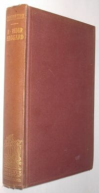 Cleopatra H Rider Haggard Longmans Silver Library 1905