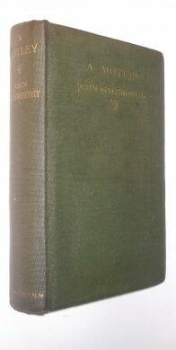 A Motley John Galsworthy First Edition William Heinemann 1910