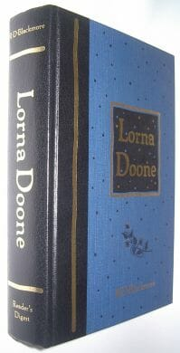 Lorna Doone R D Blackmore Readers Digest 1995
