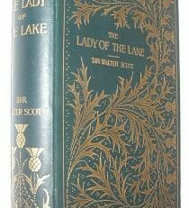 The Lady Of The Lake Sir Walter Scott Black 1891