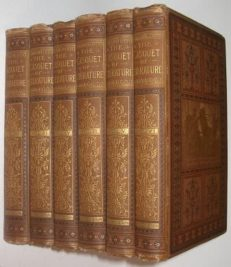 The Casquet of Literature 6 Volumes Gibbon Blackie 1888
