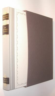 An Autobiography Anthony Trollope Folio Society 1999