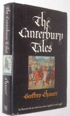 The Canterbury Tales Geoffrey Chaucer BCA 1976