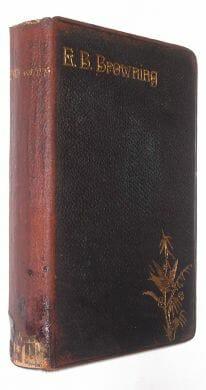 The Poetical Works Of Elizabeth Barrett Browning Ward Lock ca1887