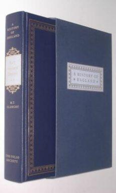 Early Medieval England Clanchy Folio Society 2000