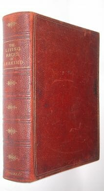 The Living Races Of Mankind Hutchinson Gregory Lydekker ca.1920