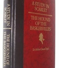 Study In Scarlet & Hound Of The Baskervilles Conan Doyle Readers Digest 1990