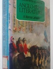 Anglo Irish Literature Norman Jeffares Gill Macmillan 1982
