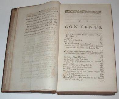A Collection of Political Tracts Viscount Bolingbroke Francklin 1748
