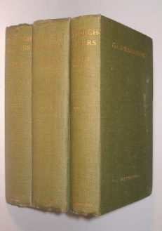 The Torch Bearers Alfred Noyes Three Volumes Blackwood 1925-30