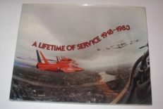 A Lifetime of Service 1918-1983 Royal Air Force Seagull 1983