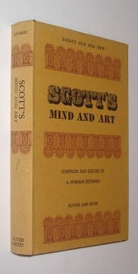 Scott's Mind and Art Oliver and Boyd 1969