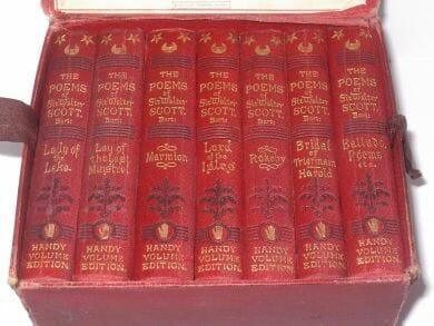 Sir Walter Scott's Poetical Works Handy Volume Edition Bradbury Agnew 1876