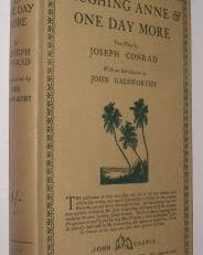 Laughing Anne & One Day More Joseph Conrad John Castle 1924