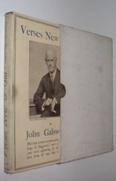 Verses New & Old John Galsworthy Heinemann 1926