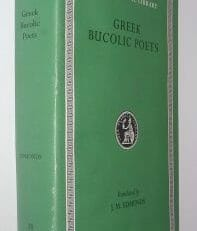 Greek Bucolic Poets Loeb Classical Library Harvard UP 2001