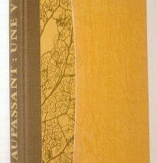 Une Vie Guy de Maupassant Folio Society 1981