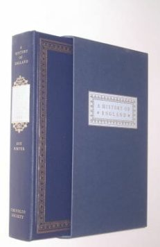 England in the Eighteenth Century Roy Porter Folio Society 1998