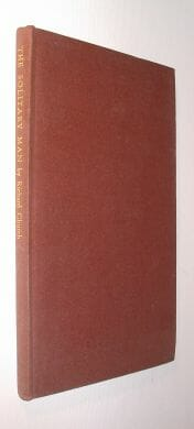 The Solitary Man and Other Poems Richard Church Dent 1941