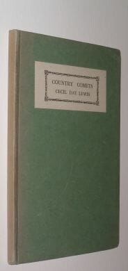 Country Comets Cecil Day Lewis Martin Hopkinson 1928