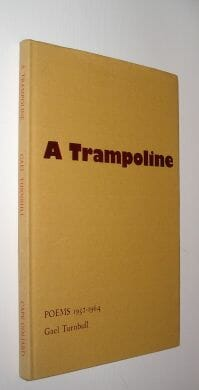 A Trampoline Poems 1952-1964 Gael Turnbull Cape Goliard 1968