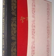 A Man of Singular Virtue Sir Thomas More Folio Society 1979