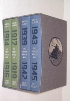 World War Histories Martin Gilbert Folio Society 2012