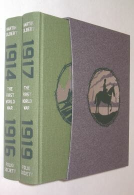 World War Histories Martin Gilbert Folio Society 2012
