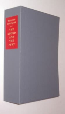 The Sound And The Fury William Faulkner Folio Society 2012
