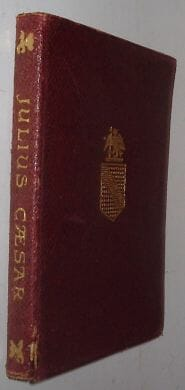 Julius Caesar William Shakespeare Dent 1928