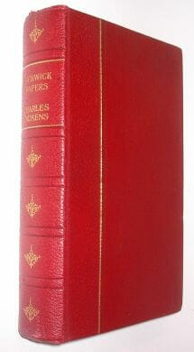 Pickwick Papers Charles Dickens Encyclopaedia Britannica c1920