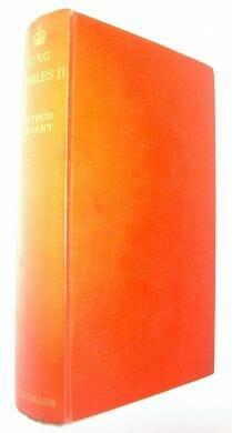 King Charles II Arthur Bryant Longmans Green 1931
