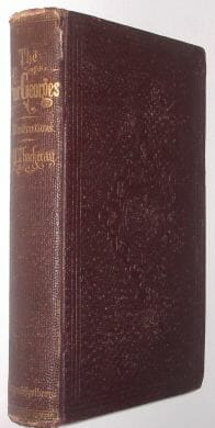 The Four Georges William Makepeace Thackeray Harper New York 1860