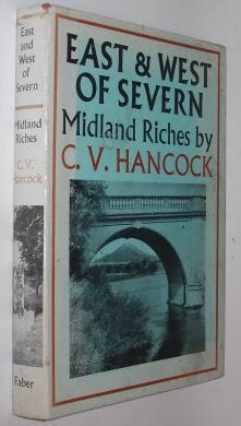 East & West Of Severn Midland Riches Hancock Faber 1956