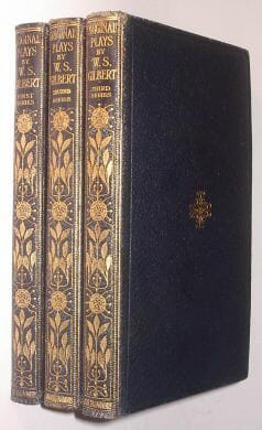 3 Volumes Original Plays Gilbert Chatto Windus 1922