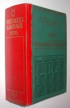 Whitaker's Almanack 1976 Complete Edition