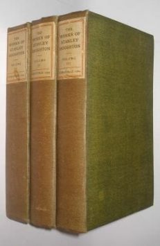 The Works Of Stanley Houghton Complete In Three Volumes Constable 1914