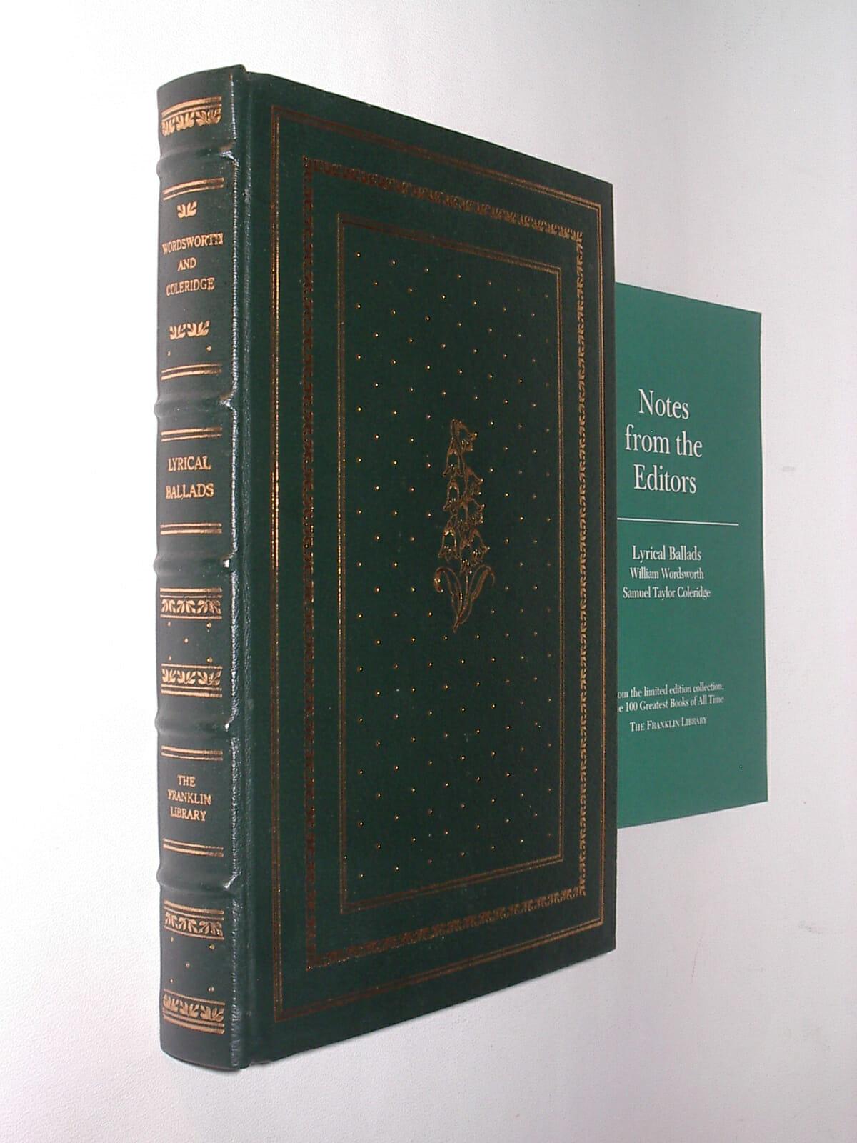 Lyrical Ballads Wordsworth & Coleridge Franklin Library ...